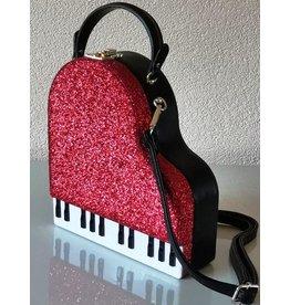 Magic Bags Handtas Grand Piano (rood)