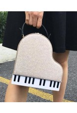 Magic Bags Fantasy bags and wallets - Handbag Grand Piano (red)