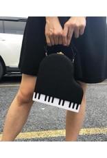 Magic Bags Fantasy tassen en portemonnees - Handtas Grand Piano (rood)