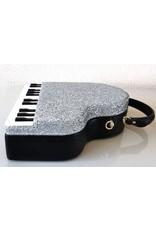 Magic Bags Fantasy tassen en portemonnees - Handtas Grand Piano (zilver)