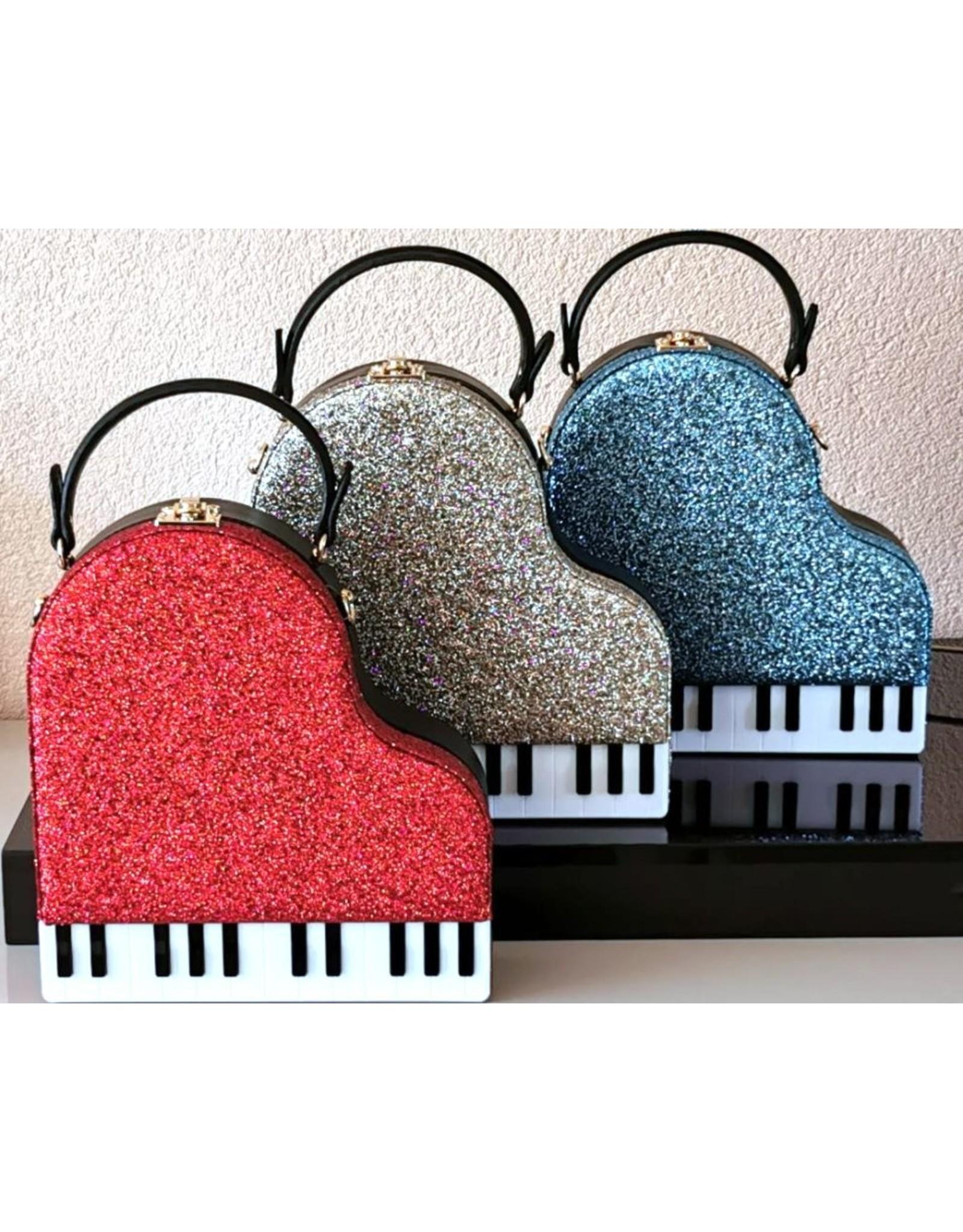 Magic Bags Fantasy bags and wallets - Handbag Grand Piano (blue)