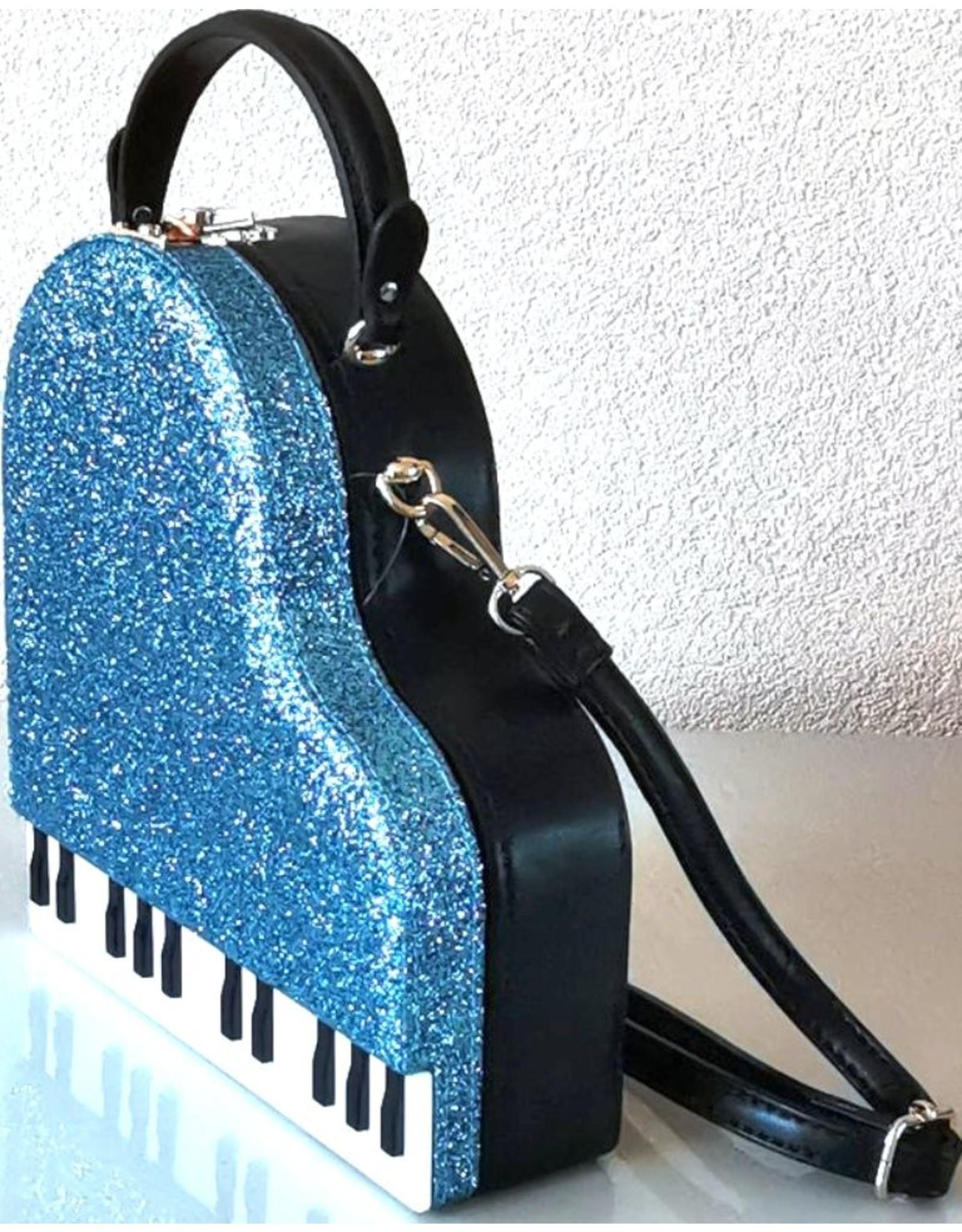 Magic Bags Fantasy tassen en portemonnees - Handtas Grand Piano (blauw)