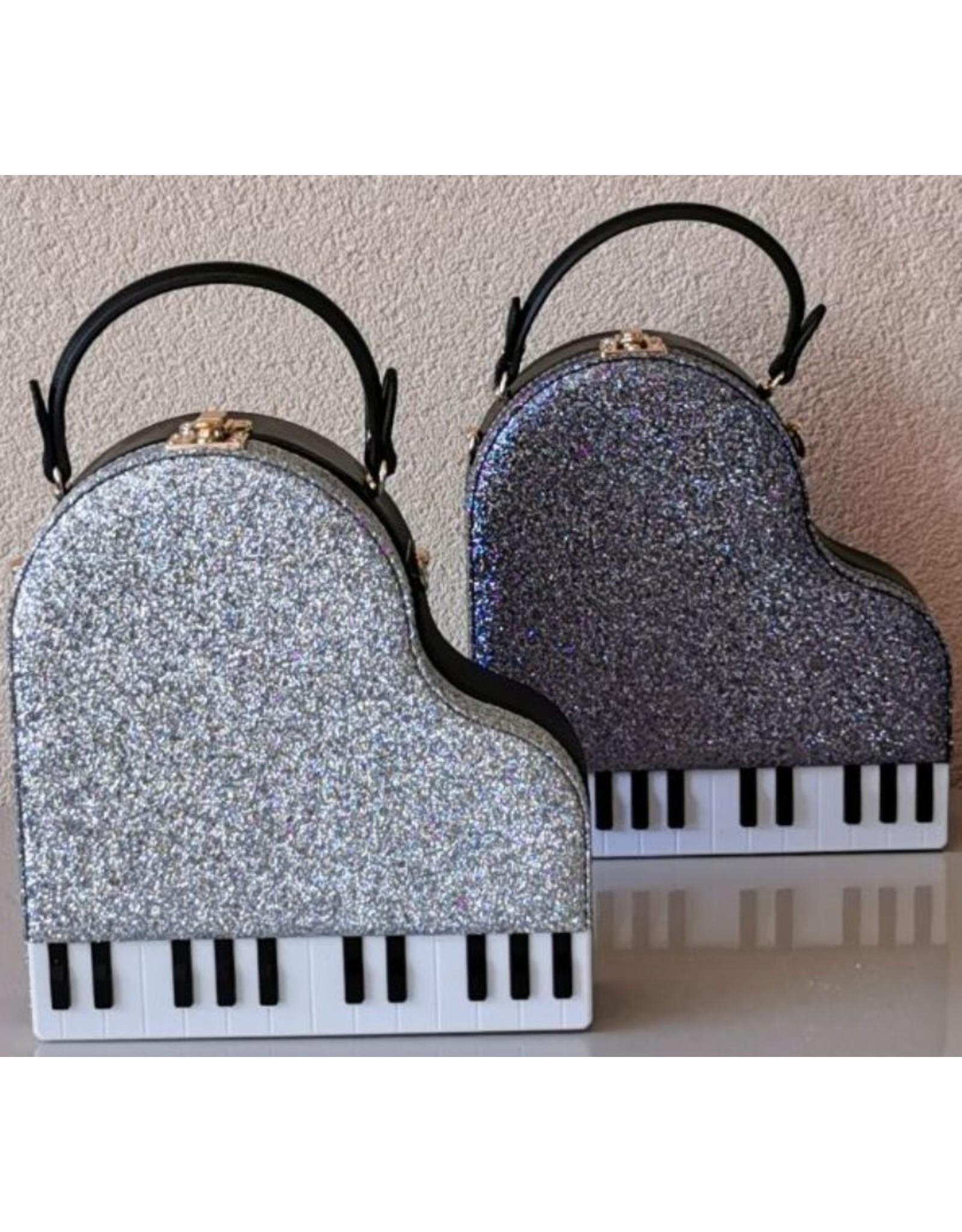 Magic Bags Fantasy bags and wallets - Handbag Grand Piano (grey)