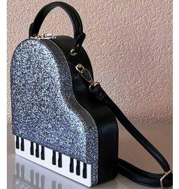 Magic Bags Handtas Grand Piano (grijs)