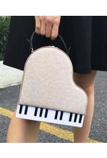 Magic Bags Fantasy tassen en portemonnees - Handtas Grand Piano (grijs)