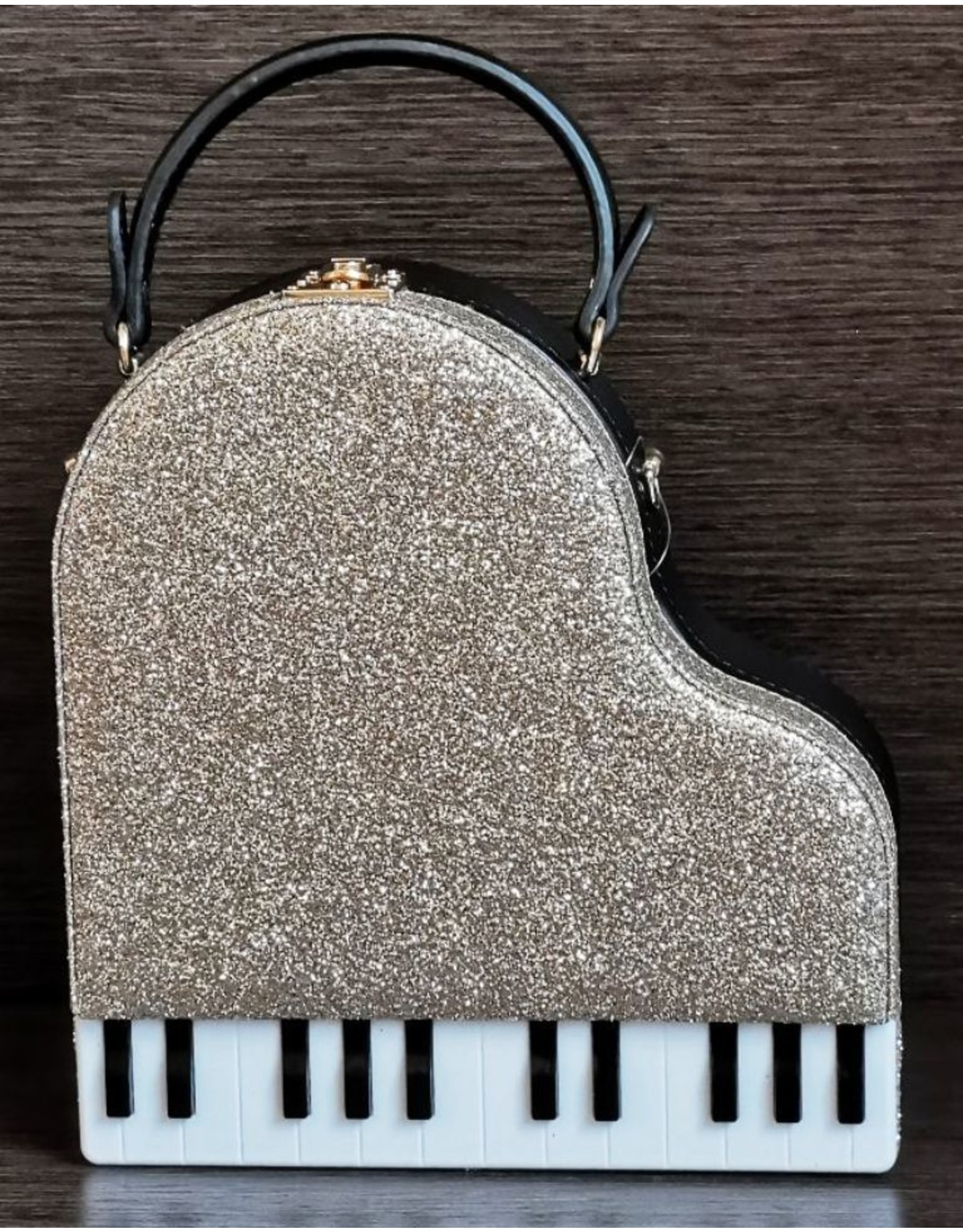 Magic Bags Fantasy bags and wallets - Handbag Grand Piano (gold)