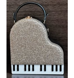 Magic Bags Handbag Grand Piano (gold)