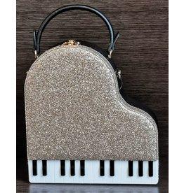 Magic Bags Handtas Grand Piano (goud)
