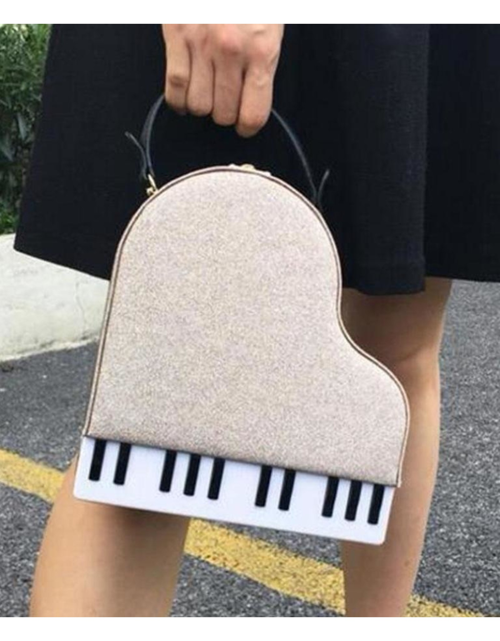 Magic Bags Fantasy tassen en portemonnees - Handtas Grand Piano (goud)