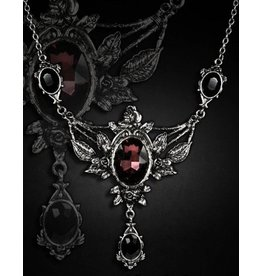 Restyle Victorian necklace with Roses and stone - Restyle