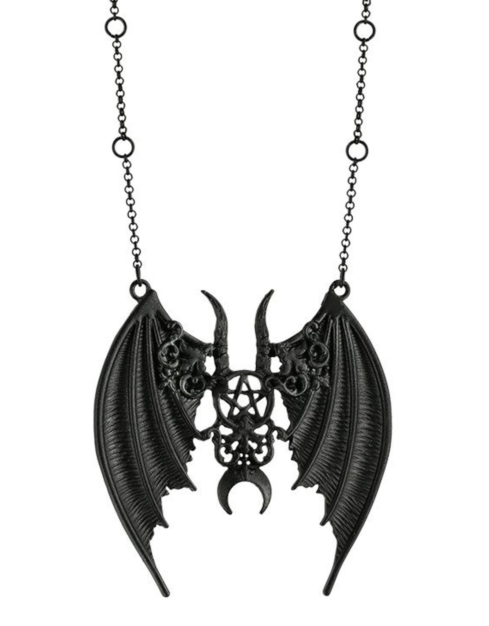 Restyle Gothic sieraden Steampunk sieraden - Gothic Ketting  Maleficent  (zwart) - Restyle