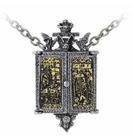 Alchemy Balkan Triptych Icon pendant and chain Alchemy