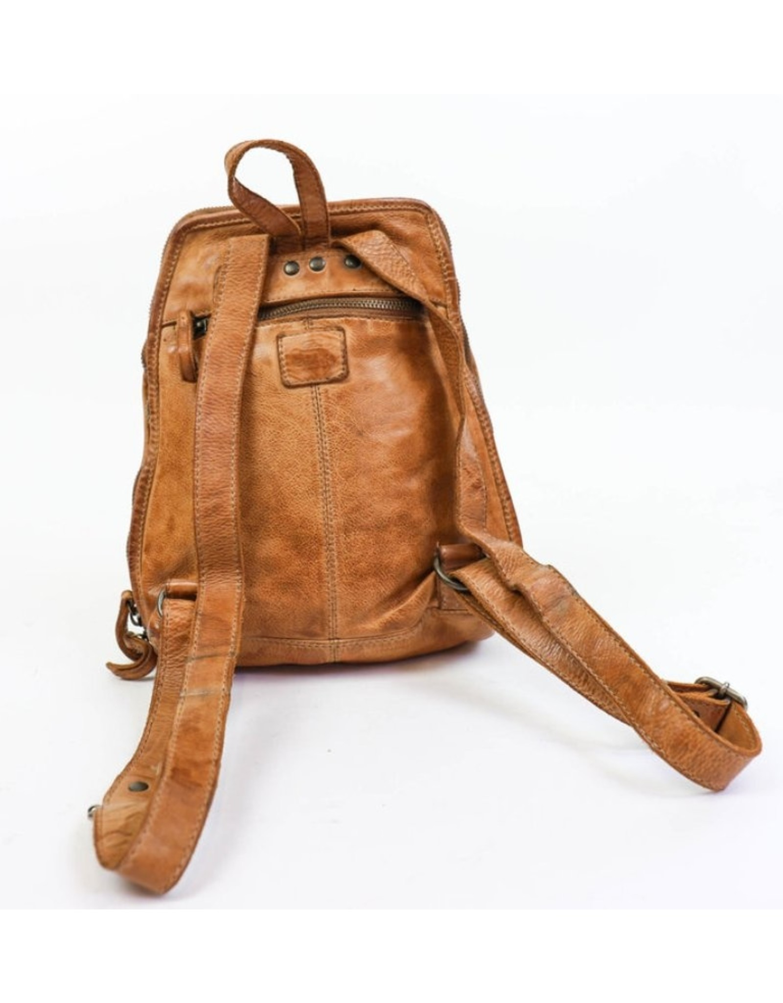 Bear Design Leather backpacks - Bear Design leather backpack CL32684