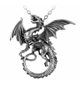 Alchemy The Whitby Wyrm pendant and chain Alchemy