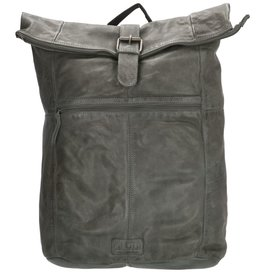 "Old West Roll-Top backpack Old West 15,6"" - 17,3"" (grey)"