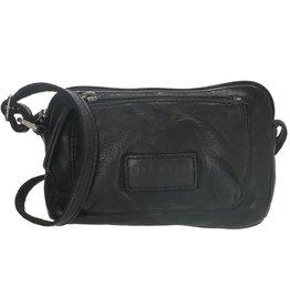 Old West Little Shoulder bag washed leather Old West (black)