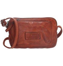 Old West Little shoulder bag washed leather Old West (dark cognac)