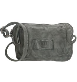 Old West Little shoulder bag washed leather Old West (grey)