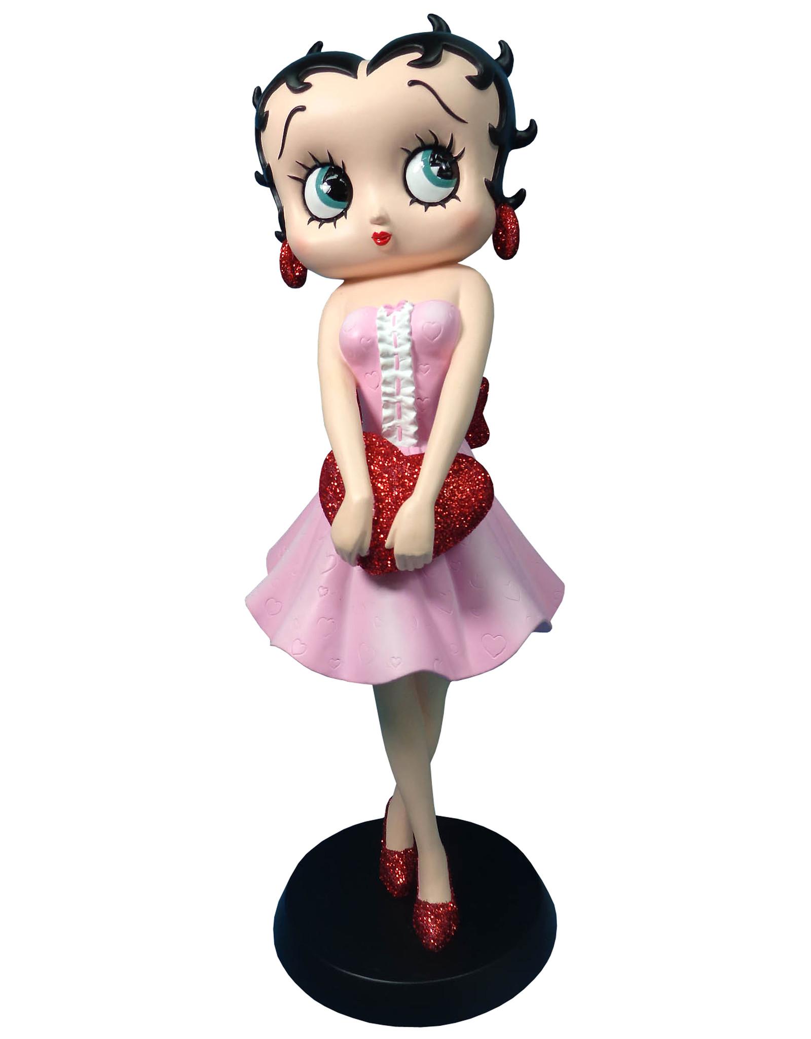 Betty Boop Betty Boop Collectables - Betty Boop met Rood Glitter Hart