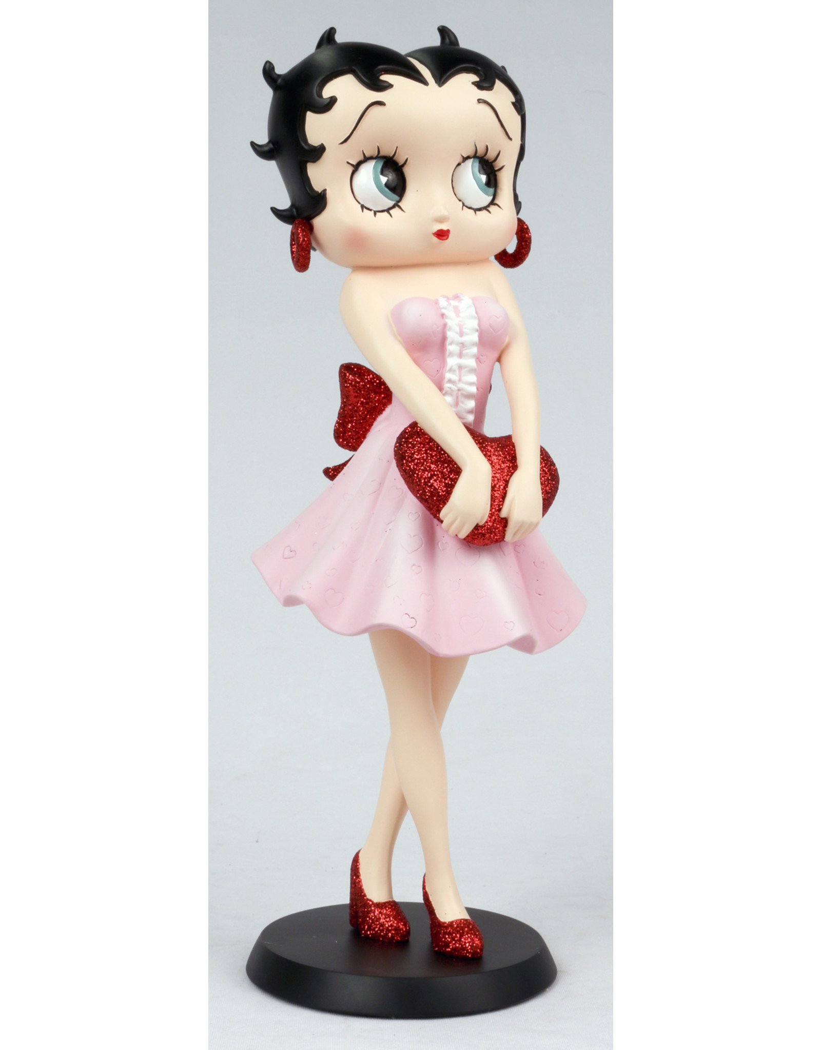 Betty Boop Betty Boop Collectables - Betty Boop Holding Red Heart