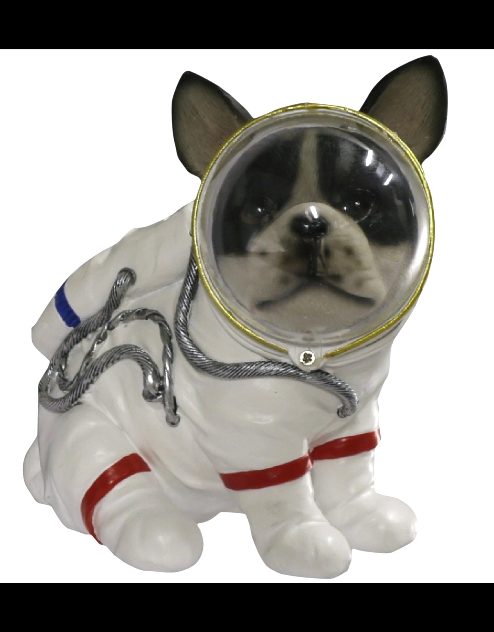 Trukado Giftware Beelden Collectables - Hond Astronaut beeldje 17cm