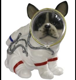 Hond Astronaut beeldje 17cm