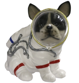 jj vaillant Hond Astronaut beeldje 17cm