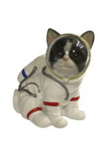 Giftware Beelden Collectables - Kat Astronaut beeldje 17cm