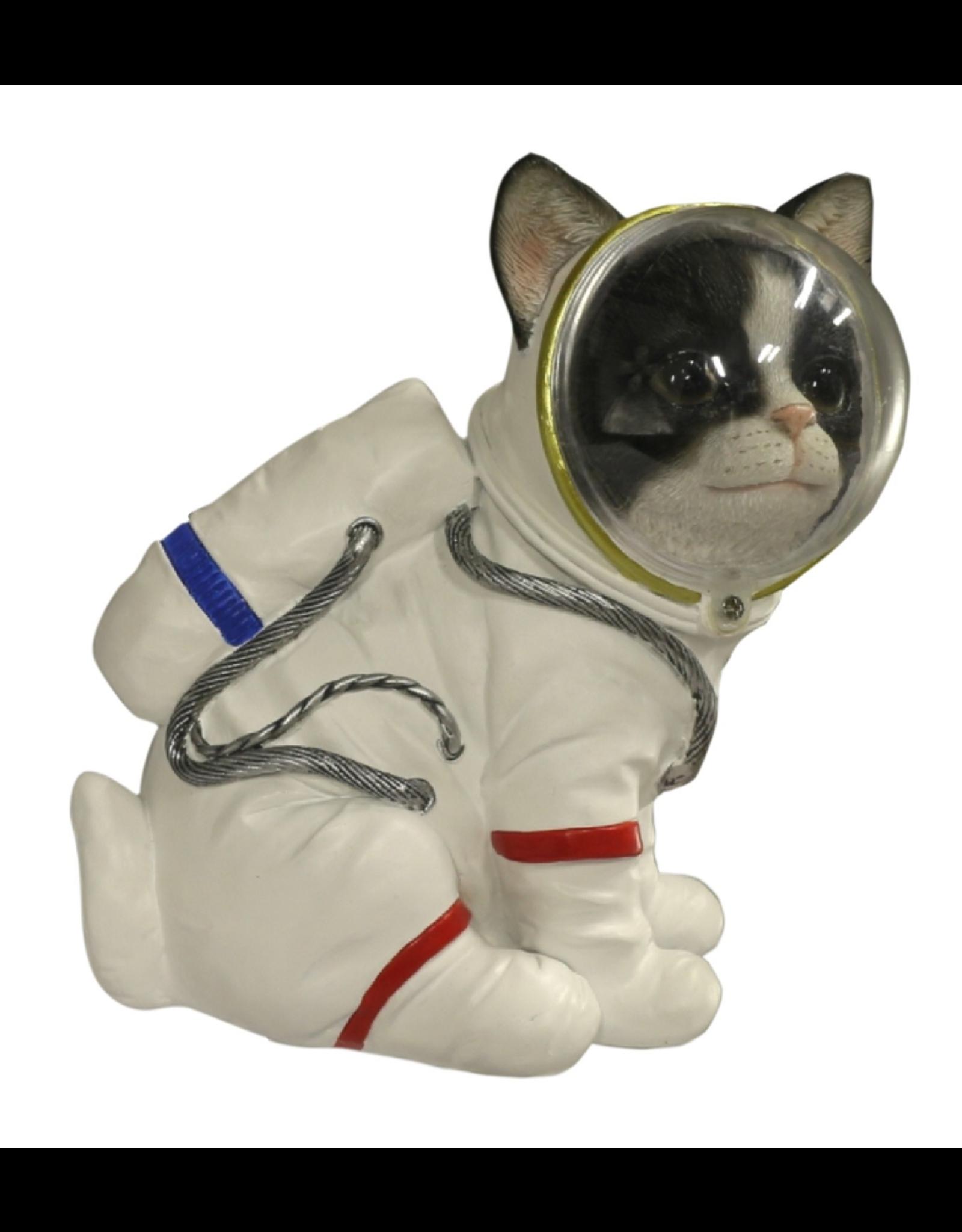jj vaillant Giftware Beelden Collectables - Kat Astronaut beeldje 17cm