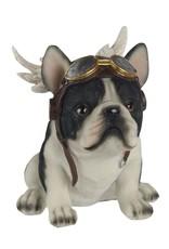 Giftware Beelden Collectables - Bulldog met Vleugels beeldje 16cm