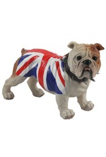 Trukado Giftware Beelden Collectables - Engelse Bulldog Union Jack (stand)