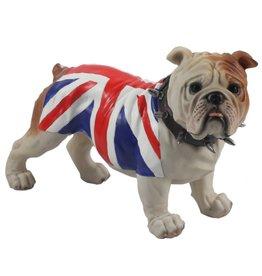 Engelse Bulldog Union Jack (stand)