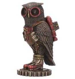 Veronese Design Steampunk Owl figurine Odd Wing - Nemesis Now