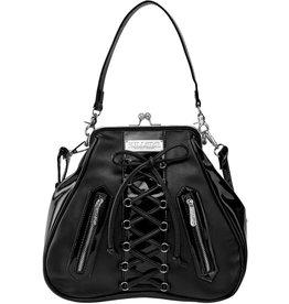 Killstar Killstar handbag Lexy with Corset-lace