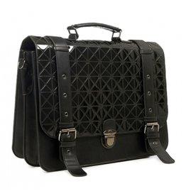 Gothic, Retro Banned  Prism  Messengerbag zwart