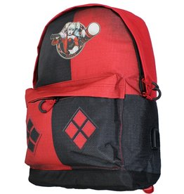 Harley Quinn Suicide Squad Harley Quinn backpack with usb-port