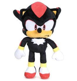 Sega Sonic - Shadow de  Egel  pluche pop 28cm