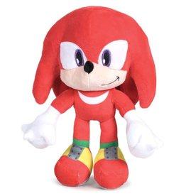 Sega Sonic - Knuckles de Egel pluche pop 25cm