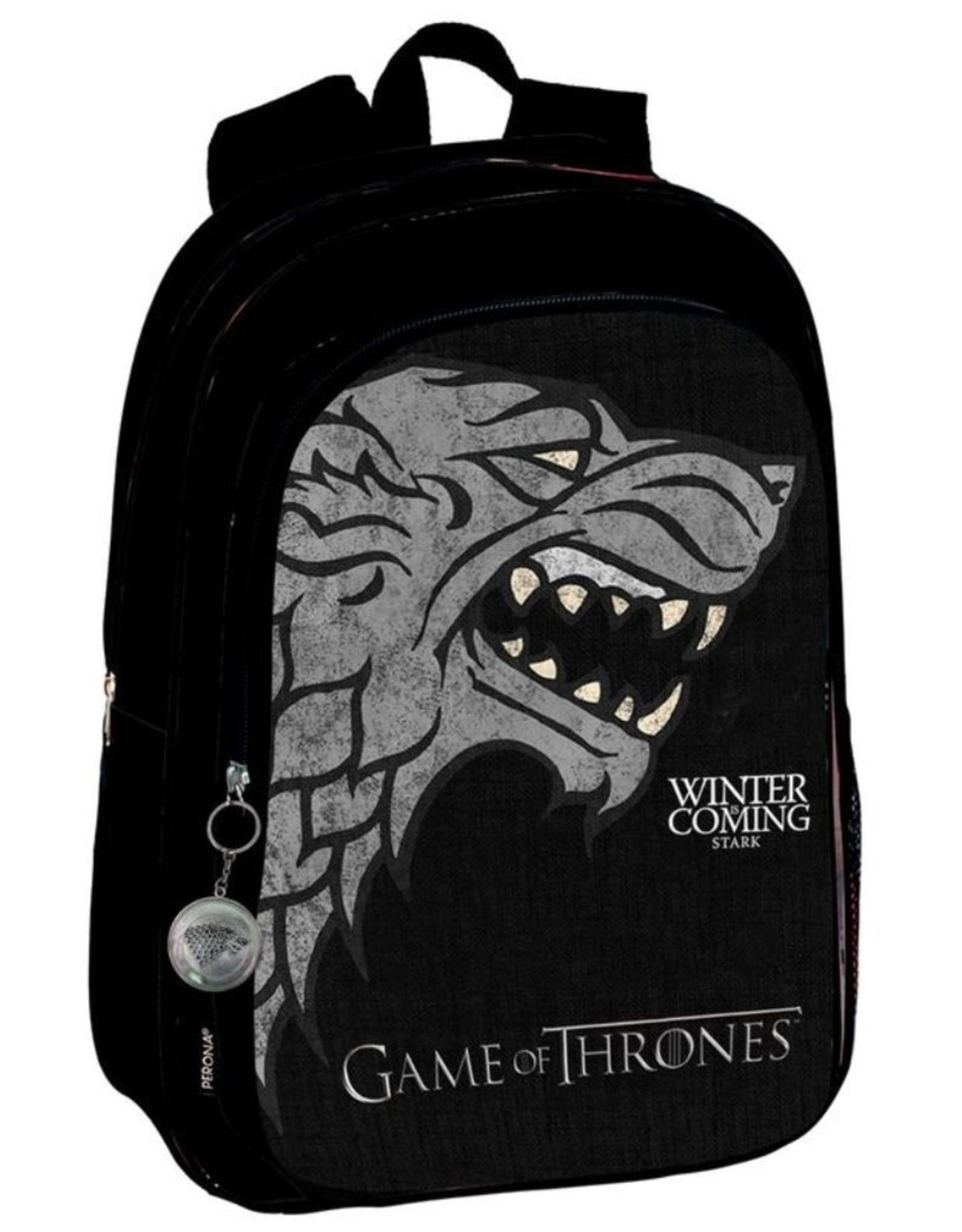 Game of Thrones Overige Merchandise rugzakken en heuptassen - Game of Thrones Stark rugzak 43cm