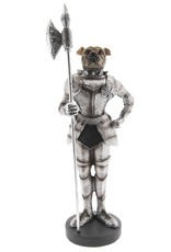 Bulldog Middeleeuwse Ridder beeld Giftware Figurines Collectables - Bulldog Medieval Knight statue 33cm