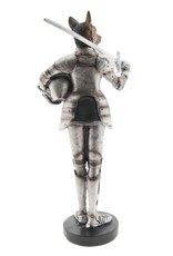 Herder Hond Middeleeuwse Ridder beeld - 32cm Giftware Beelden Collectables - Herder Hond Middeleeuwse Ridder beeld 32cm