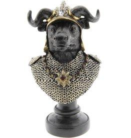 Stier Ridder beeld Taurus Knight statue 25cm (bust)