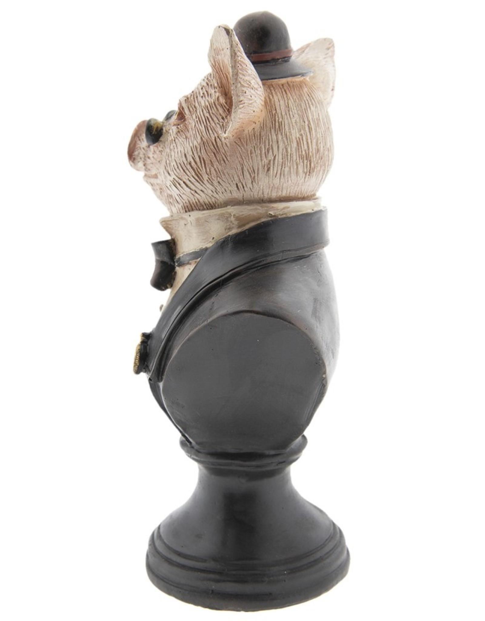 Varken Klerk beeld Giftware Beelden Collectables - Varken Klerk beeld 24cm (buste)
