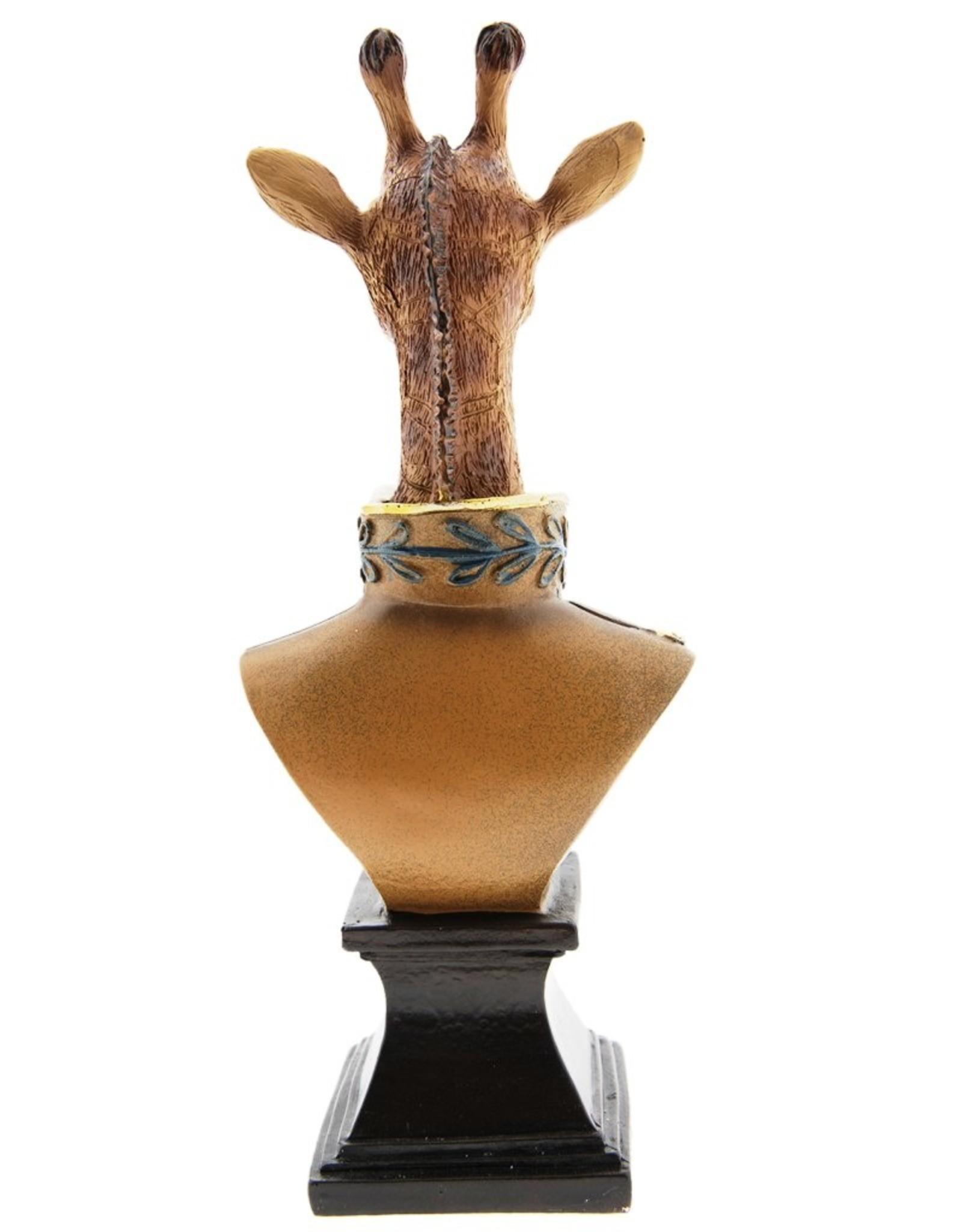 Giraf Maarschalk beeld 28cm Giftware Beelden Collectables - Giraf Maarschalk beeld 28cm (buste)