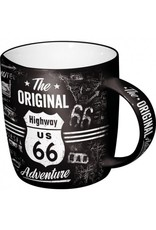 Nostalgic Art Tankards and Mugs - Highway 66 Adventure mug - dishwasher and microwave proof