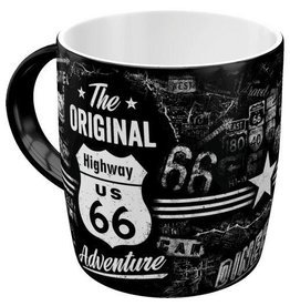 Nostalgic Art Highway 66 Adventure mug - microwave and dishwasher proof