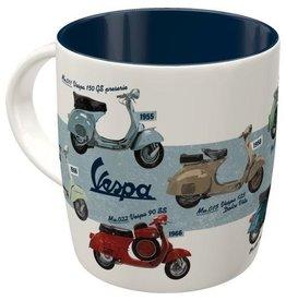 Nostalgic Art Vespa Chart mug - microwave and dishwasher proof