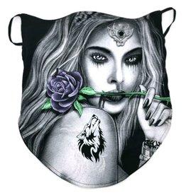 Dragon Biker-scarf Tattoo Girl