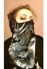 Dragon Design Biker scarfs - Biker-scarf Dragon and Me