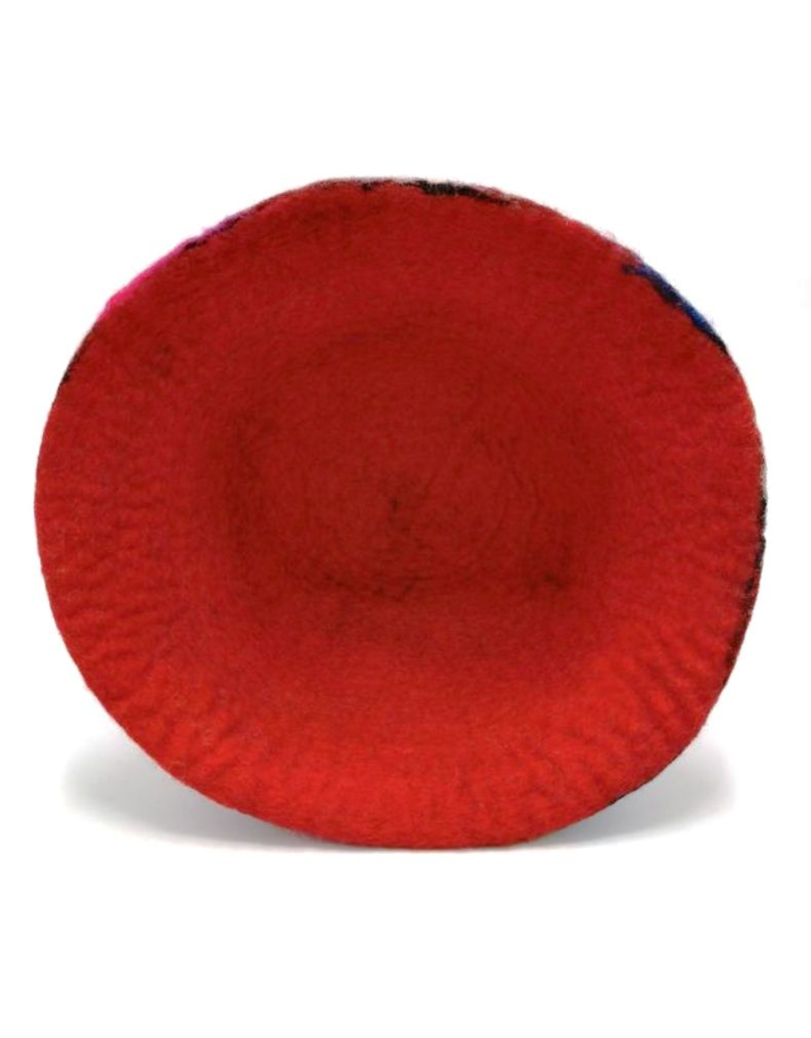 "Handgemaakt Miscellaneous - Felt hat ""Happy me""- hand felted, 100% wool"